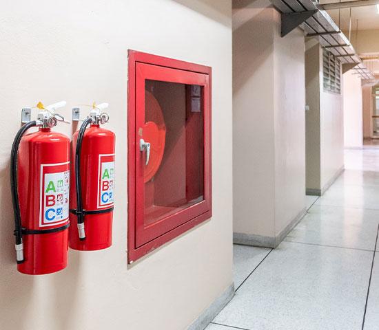 Brandschutzbegehung